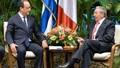 Chủ tịch Cuba thăm chính thức Pháp