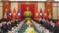 Đề nghị Lào phối hợp chặt chẽ với Việt Nam trong vấn đề biển Đông