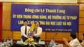 Bộ Trưởng Lê Thành Long: Trường Đại học Luật Hà Nội cần phát huy hết lợi thế để tạo đột phá