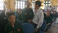 Bộ Tư pháp tri ân, tặng quà thương binh tại Trung tâm điều dưỡng Kim Bảng