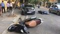 Tài xế ô tô Mercedes gây tai nạn liên hoàn đã rời khỏi hiện trường