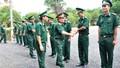 Thượng tướng Nguyễn Phương Nam kiểm tra Đồn Biên phòng cửa khẩu Hoàng Diệu