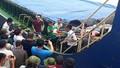 Còn 5 thuyền viên tàu mất tích trong vụ chìm tàu ở Nghệ An