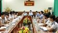 Đoàn công tác Tổng cục THADS làm việc tại Bình Định
