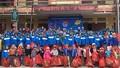 Đoàn Thanh niên Bộ Tư pháp mang mùa xuân đến với trẻ em nghèo Khao Mang