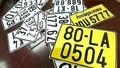 Xe kinh doanh vận tải dùng biển kiểm soát màu vàng từ 1/8