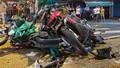 Nữ tài xế 23 tuổi lái ô tô tông hàng loạt xe gắn máy do đạp nhầm chân ga?
