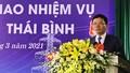 Điện lực tỉnh Thái Bình có tân Giám đốc