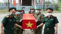 Đón nhận 14 hài cốt liệt sĩ hy sinh tại Lào về với đất mẹ