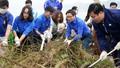 Phó Thủ tướng Vũ Đức Đam cùng hàng trăm sinh viên làm sạch môi trường