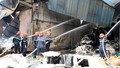 Cháy lớn gây thiệt hại nhiều tỷ đồng tại chi nhánh công ty Giấy Trường Xuân