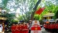Hơn 1000 học sinh hát quốc ca không nhạc khẳng định chủ quyền lãnh thổ Việt Nam