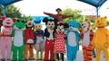 Nhảy hoạt hình tại Công viên Hồ Tây