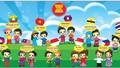 7 nước tham gia Liên hoan thiếu nhi Đông Nam Á