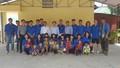Thứ trưởng Lê Tiến Châu động viên sinh viên tình nguyện Trường Đại học Luật Hà Nội tại Lào Cai