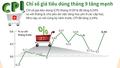 [Infographic] Chỉ số giá tiêu dùng tăng chủ yếu do việc tăng học phí!