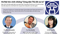 """[Infographic] Gương mặt 9 """"Công dân Thủ đô ưu tú"""" năm 2016"""