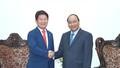 Thủ tướng Nguyễn Xuân Phúc tiếp Thị trưởng TP. Daegu (Hàn Quốc)