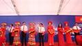 Phó Thủ tướng Vương Đình Huệ dự lễ khai trương cặp cửa khẩu Chi Ma-Ái Điểm