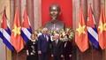 Tổng Bí thư, Chủ tịch nước Nguyễn Phú Trọng đón Chủ tịch HĐNN, HĐBT Cuba