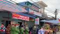 """Hàng trăm cảnh sát đeo khẩu trang để bảo đảm trật tự và tuyên truyền phòng chống """"dịch Corona"""" tại chợ Viềng"""
