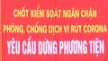 Từ hôm nay - 18/3, ra vào tỉnh Quảng Ninh bằng đường bộ phải qua chốt kiểm soát