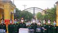 Phụ nữ Bộ CHQS tỉnh Hà Nam làm 120 mặt nạ phòng chống dịch