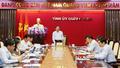 Bí thư Quảng Ninh yêu cầu thực hiện tốt công tác giải phóng mặt bằng các dự án