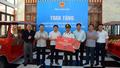 Quảng Ninh tặng 2 xe điện phục vụ hoạt động thăm viếng tại Nghĩa trang Trường Sơn