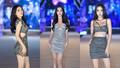 Tiểu Vy, Phương Nga, Thúy An diện váy ngắn sexy xuất hiện trước giờ G 'Người đẹp biển'