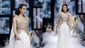 Hoa hậu Việt Nam Đỗ Thị Hà diện đồ nữ thần Hy Lạp catwalk