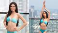 Á hậu Ngọc Thảo trình diễn bikini