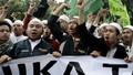 Xúc phạm Kinh Koran, Thống đốc Jakarta bị dân biểu tình phản đối