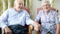 Chú rể 103 tuổi cưới vợ 91 tuổi