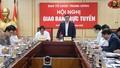 Kịp thời ngăn chặn vi phạm trong công tác cán bộ phục vụ Đại hội Đảng