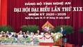 Thủ tướng Nguyễn Xuân Phúc dự Đại hội đại biểu Đảng bộ tỉnh Nghệ An lần thứ XIX