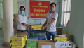 CQĐD miền Trung Tây Nguyên Báo PLVN phối hợp cùng Trường sinh Group hỗ trợ 3 điểm nóng chống dịch Covid-19 tại Gia Lai