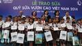 Quỹ sữa Vươn cao Việt Nam: 22 triệu ly sữa cho trẻ em cả nước