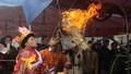 Lễ nhảy lửa xua đuổi tà ma của người Dao vùng Mẫu Sơn