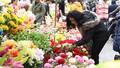 Hoa giả tràn ngập tại chợ hoa 500 năm tuổi
