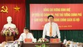 Phó Thủ tướng Vương Đình Huệ làm việc với Ngân hàng Chính sách xã hội