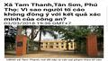 UBND tỉnh Phú Thọ cần chỉ đạo giải quyết triệt để những sai phạm của lãnh đạo xã Tam Thanh