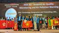 """Ứng dụng theo dõi chất lượng không khí """"make in Việt Nam"""" giành giải cao tại APICTA 2019"""