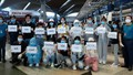 Gần 300 công dân Việt Nam từ Malaysia trở về âm tính lần 1 với Covid-19