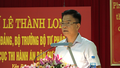 Bộ trưởng Lê Thành Long thăm và làm việc với Cục Thi hành án dân sự tỉnh Yên Bái
