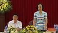 Bộ trưởng Bộ Tư pháp Lê Thành Long làm việc với Thường trực Tỉnh ủy tỉnh Yên Bái