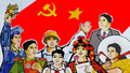 Tổ chức Cuộc thi sáng tác tranh cổ động trực tuyến tuyên truyền kỷ niệm 75 năm Ngày Cách mạng tháng Tám và Quốc khánh