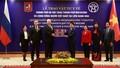 Hà Nội trao tặng vật tư y tế phòng, chống dịch bệnh Covid-19 cho Moscow