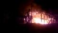 Nam Định: Cháy lớn ở cụm công nghiệp làng nghề Hải Minh