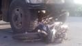 Hưng Yên: Xe tải cuốn xe máy vào gầm, 2 người nguy kịch